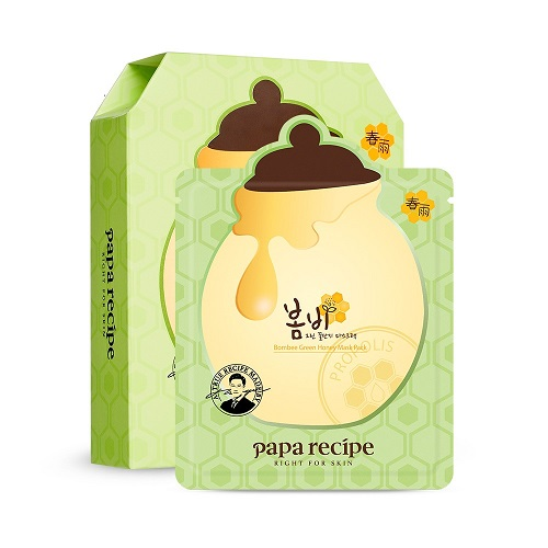 Bolehshop - Bombee Green Honey Mask Pack