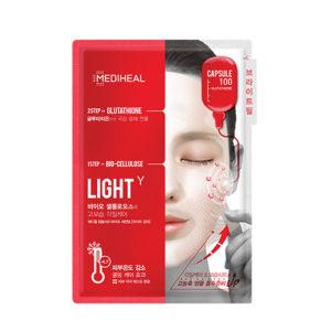 Bolehshop - Mediheal Capsule 100 Bio-Cellulose Glutathione Mask