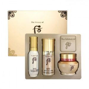 Bolehshop - Whoo Bichup Royal Anti-Aging 3 Items Trial Set