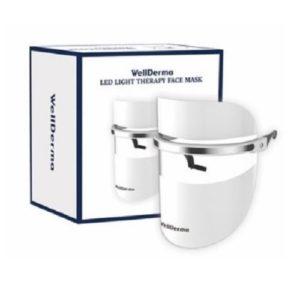 Boleshshop - WellDerma LED Light Therapy Face Mask 1 Box