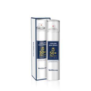 Bolehshop - WellDerma Cooling Sun Spray SPF 50+