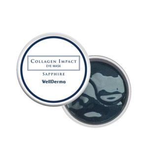Bolehshop - WellDerma Collagen Impact Sapphire Eye Mask Pack