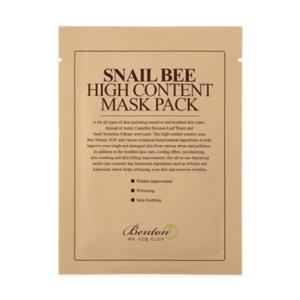 Bolehshop - Benton Snail Bee High Content Mask Pack Packaging