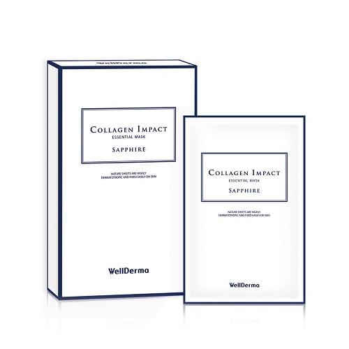 Bolehshop - WellDerma Collagen Impact Essential Mask Sapphire