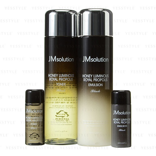 Bolehshop - JM Solution Honey Luminous Royal Propolis Black Set