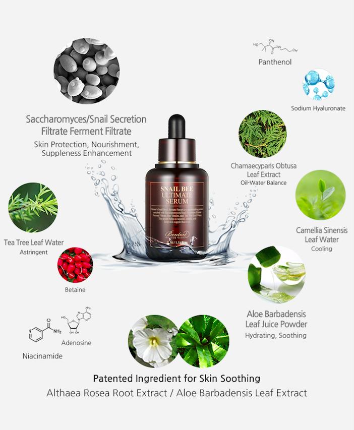 Bolehshop - Benton Snail Bee Ultimate Serum Ingredients