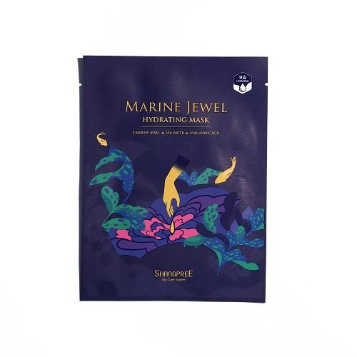 Bolehshop - Shangpree Marine Jewel Hydrating Sheet Mask