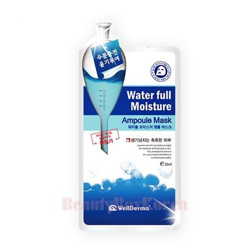 Bolehshop - WellDerma G Plus Water Full Moisture Ampoule Sheet Mask