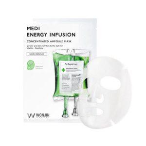 Bolehshop - WONJIN Medi Energy Infusion Concentrated Ampoule Sheet Mask