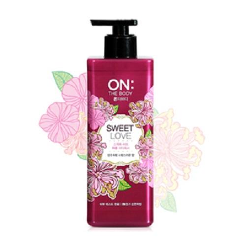 Bolehshop - ON: THE BODY Perfume Body Wash (Sweet Love) 500 ml