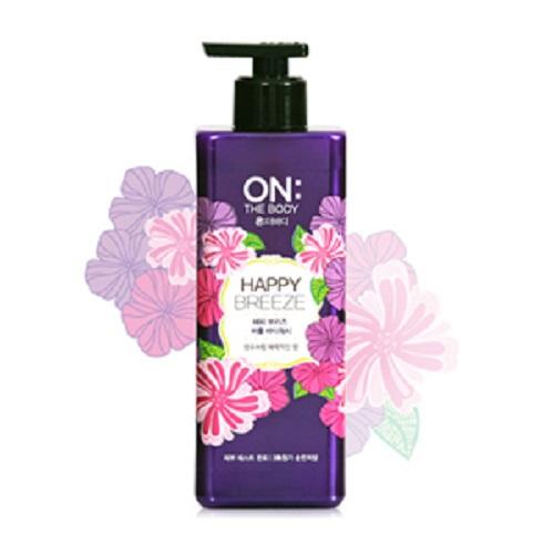 Bolehshop - ON: THE BODY Perfume Body Wash (Happy Breeze) 500 ml