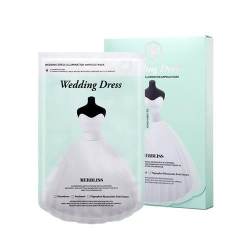 Bolehshop - MERBLISS Wedding Dress Illumination Ampoule Sheet Mask