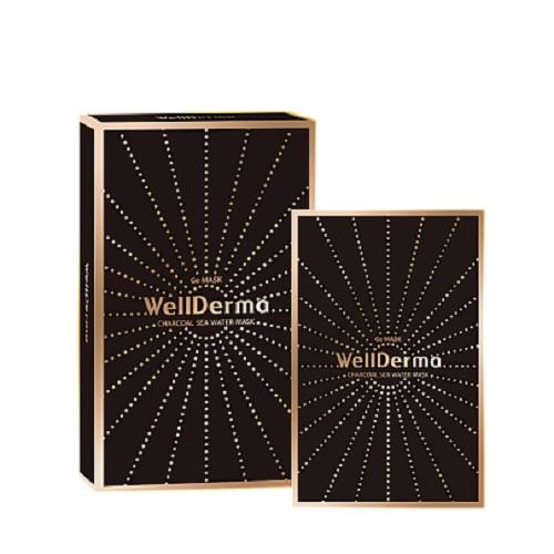 Bolehshop - WellDerma Charcoal Sea Water Mask 1 Box